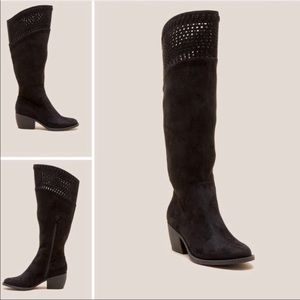 Black Knee High Boots - Black Boots - Francesca's